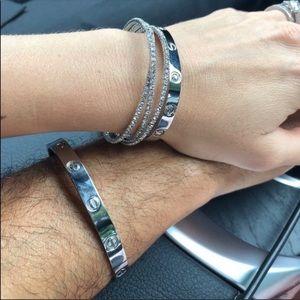 🧨CLEARANCE🧨  Lover Bracelet w Screwdriver 18K WG